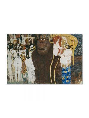 Tablou Arta Clasica Pictor Gustav Klimt Portrait of Marie Henneberg 1902 80 x  80 cm