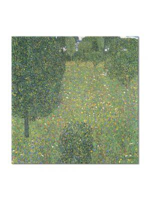 Tablou Arta Clasica Pictor Gustav Klimt Roses under the Trees 1905 80 x  80 cm