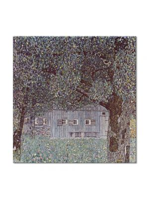 Tablou Arta Clasica Pictor Gustav Klimt Apple Tree 1912 80 x  80 cm