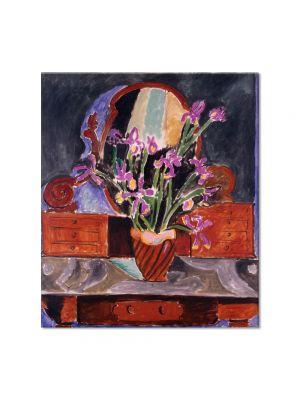 Tablou Arta Clasica Pictor Henri Matisse Vase of Irises 1912 80 x 90 cm