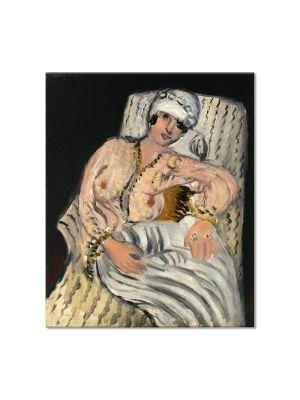 Tablou Arta Clasica Pictor Henri Matisse Odalisque 1917 80 x 90 cm
