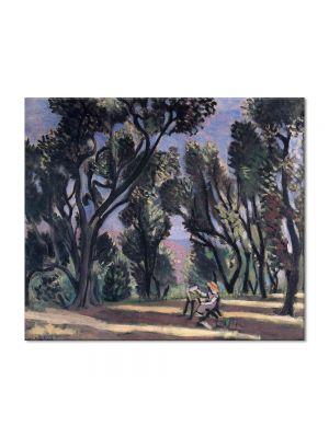 Tablou Arta Clasica Pictor Henri Matisse Landscape with a bench 1918 80 x 90 cm