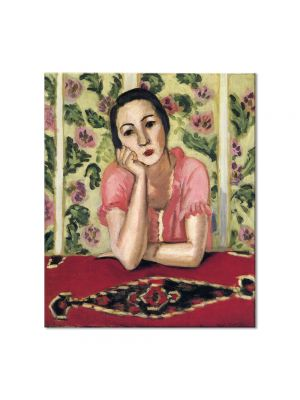 Tablou Arta Clasica Pictor Henri Matisse Portrait of woman 1919 80 x 90 cm