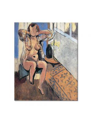 Tablou Arta Clasica Pictor Henri Matisse Nude, Spanish Carpet 1919 80 x 90 cm