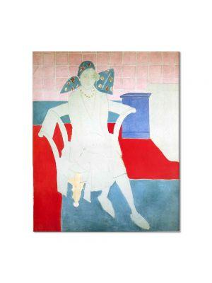 Tablou Arta Clasica Pictor Henri Matisse Woman with a Madras Hat 1929 80 x 90 cm