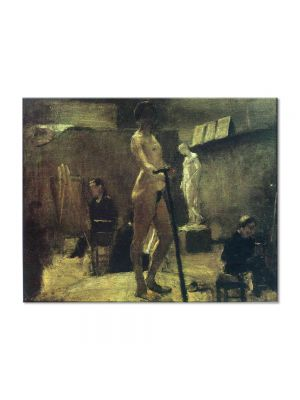 Tablou Arta Clasica Pictor Henri Matisse The Study of Gustave Moreau 1895 80 x 100 cm