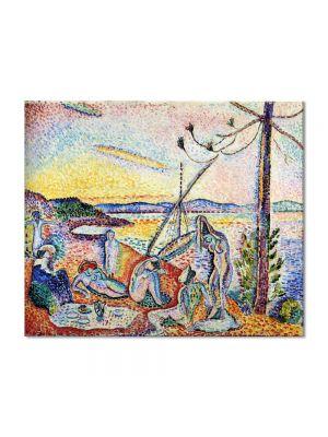 Tablou Arta Clasica Pictor Henri Matisse Luxury, Serenity and Pleasure 1905 80 x 90 cm