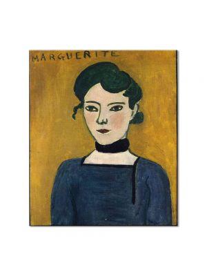 Tablou Arta Clasica Pictor Henri Matisse Marguerite 1907 80 x 90 cm