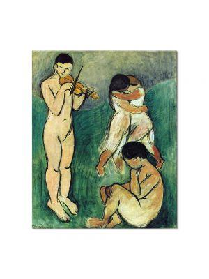 Tablou Arta Clasica Pictor Henri Matisse Music. Sketch 1907 80 x 90 cm