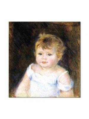 Tablou Arta Clasica Pictor Pierre-Auguste Renoir Portrait of an infant 1881 80 x 80 cm