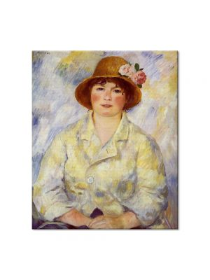 Tablou Arta Clasica Pictor Pierre-Auguste Renoir Aline Charigot, future madame Renoir 1885 80 x 90 cm