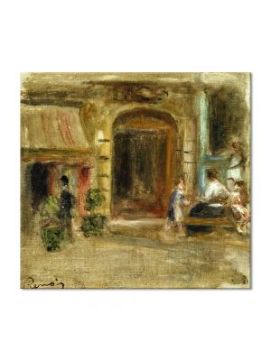 Tablou Arta Clasica Pictor Pierre-Auguste Renoir Rue Caulaincourt 1905 80 x 90 cm