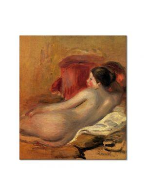 Tablou Arta Clasica Pictor Pierre-Auguste Renoir Reclining model 1906 80 x 90 cm