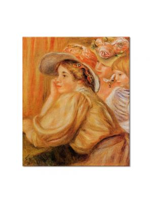 Tablou Arta Clasica Pictor Pierre-Auguste Renoir Coco and two servants 1910 80 x 90 cm
