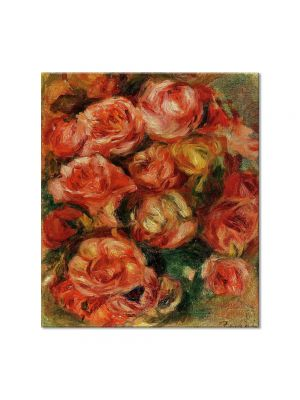 Tablou Arta Clasica Pictor Pierre-Auguste Renoir Bouquet of flowers 1915 80 x 90 cm
