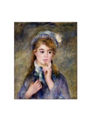 Tablou Arta Clasica Pictor Pierre-Auguste Renoir The ingenue 1874 80 x 90 cm