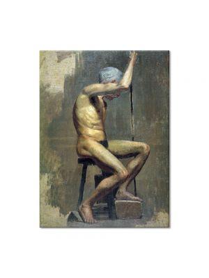 Tablou Arta Clasica Pictor Pablo Picasso Academical study 1895 80 x 100 cm