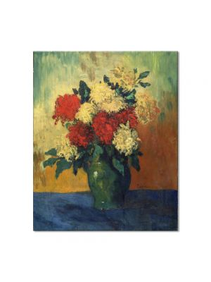 Tablou Arta Clasica Pictor Pablo Picasso Chrysanthemums 1901 80 x 90 cm