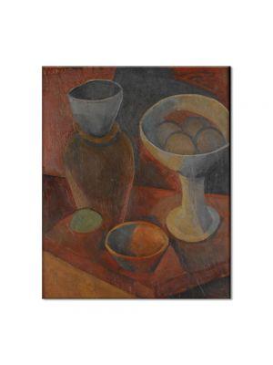 Tablou Arta Clasica Pictor Pablo Picasso Jug and fruit dish 1908 80 x 90 cm