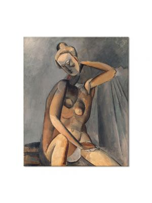 Tablou Arta Clasica Pictor Pablo Picasso Bust of a Woman 1909 80 x 90 cm