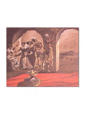 Tablou Arta Clasica Pictor Salvador Dali Invisible Bust of Voltaire 1941 80 x 100 cm
