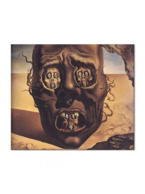 Tablou Arta Clasica Pictor Salvador Dali The Face of War 1941 80 x 90 cm