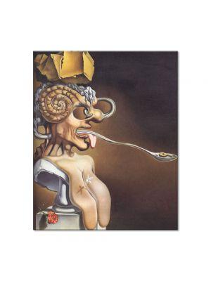 Tablou Arta Clasica Pictor Salvador Dali Portrait of Picasso 1947 80 x 90 cm