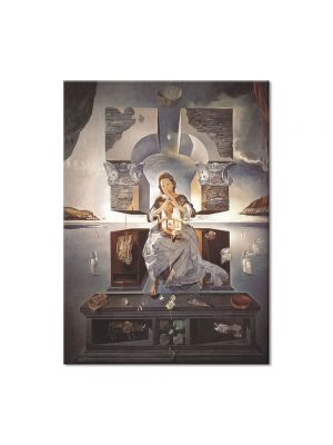 Tablou Arta Clasica Pictor Salvador Dali The Madonna of Port Lligat 1950 80 x 100 cm