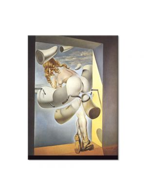 Tablou Arta Clasica Pictor Salvador Dali Young Virgin Auto-Sodomized by the Horns of Her Own Chastity 1954 80 x 100 cm
