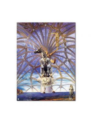 Tablou Arta Clasica Pictor Salvador Dali Santiago El Grande 1957 80 x 100 cm