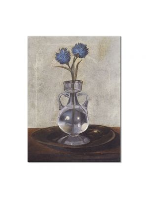 Tablou Arta Clasica Pictor Salvador Dali The Vase of Cornflowers 1959 80 x 100 cm