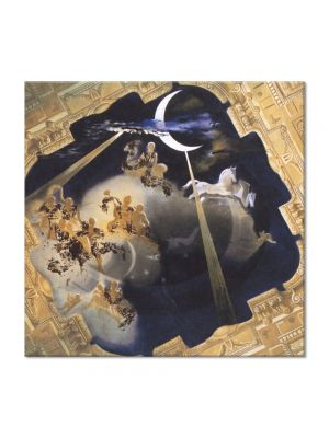 Tablou Arta Clasica Pictor Salvador Dali Ceiling of the Hall of Gala's Chateau at Pubol 1971 80 x  80 cm