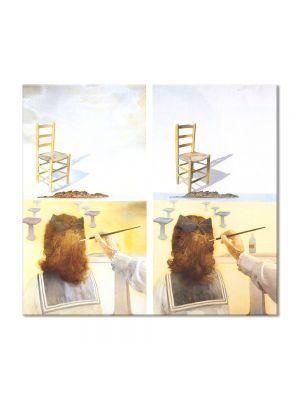 Tablou Arta Clasica Pictor Salvador Dali The Chair 1975 80 x 90 cm