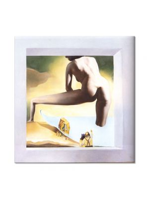 Tablou Arta Clasica Pictor Salvador Dali Dali Lifting the Skin of the Mediterranean Sea to Show Gala the Birth of Venus 1977 80 x  80 cm