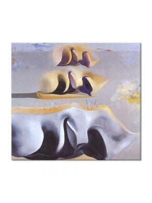 Tablou Arta Clasica Pictor Salvador Dali The Three Glorious Enigmas of Gala,second version 1982 80 x 90 cm