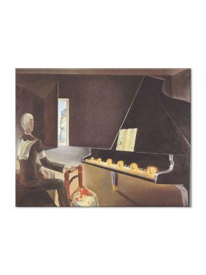 Tablou Arta Clasica Pictor Salvador Dali Partial Hallucination: Six Apparitions of Lenin on a Piano 1931 80 x 100 cm