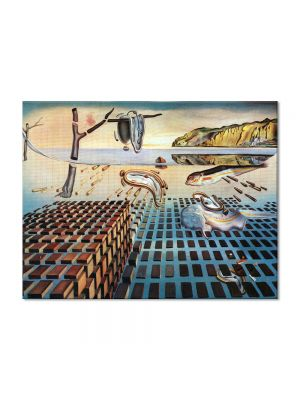Tablou Arta Clasica Pictor Salvador Dali The Disintegration of the Persistence of Memory 1952 80 x 100 cm