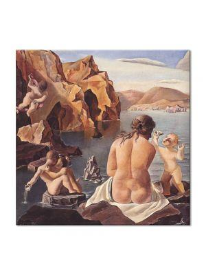 Tablou Arta Clasica Pictor Salvador Dali Venus with Cupids 1925 80 x  80 cm