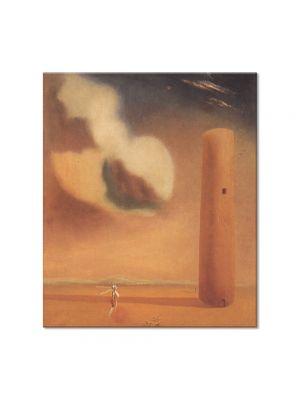 Tablou Arta Clasica Pictor Salvador Dali Enigmatic Elements in the Landscape 1934 80 x 90 cm