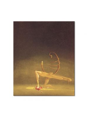 Tablou Arta Clasica Pictor Salvador Dali Javanese Mannequin 1934 80 x 90 cm