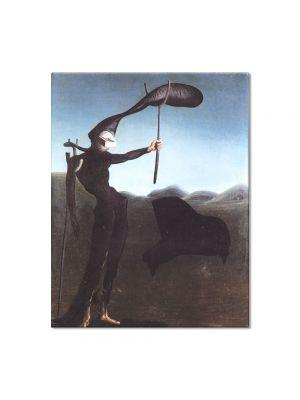 Tablou Arta Clasica Pictor Salvador Dali The Invisible Harp 1934 80 x 100 cm