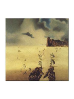 Tablou Arta Clasica Pictor Salvador Dali Perspectives 1937 80 x  80 cm