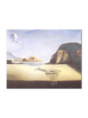 Tablou Arta Clasica Pictor Salvador Dali The Transparent Simulacrum of the Feigned Image 1938 80 x 100 cm