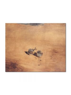 Tablou Arta Clasica Pictor Salvador Dali Two Pieces of Bread Expressing the Sentiment of Love 1940 80 x 100 cm