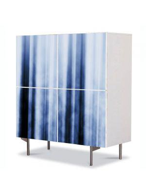 Comoda cu 4 Usi Art Work Abstract Gheata, 84 x 84 cm
