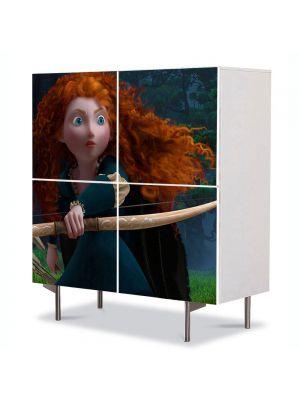 Comoda cu 4 Usi Art Work pentru Copii Animatie Brave 2012 , 84 x 84 cm