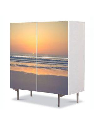 Comoda cu 4 Usi Art Work Peisaje Relaxare, 84 x 84 cm