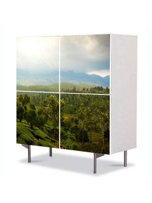 Comoda cu 4 Usi Art Work Peisaje Vietnam, 84 x 84 cm