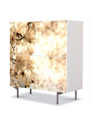 Comoda cu 4 Usi Art Work Peisaje Sepia, 84 x 84 cm