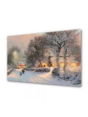 Tablou Canvas Iarna Pictura fantastica